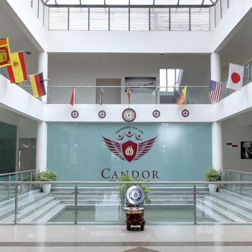 Admin wing 360view candor international school for Virtual house walkthrough