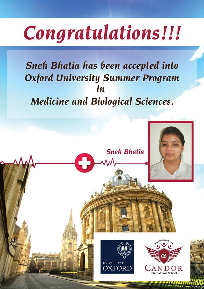 Summer Program @ Oxford University!!!