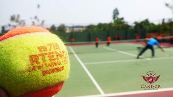 Grade 3A Tennis Class!!!