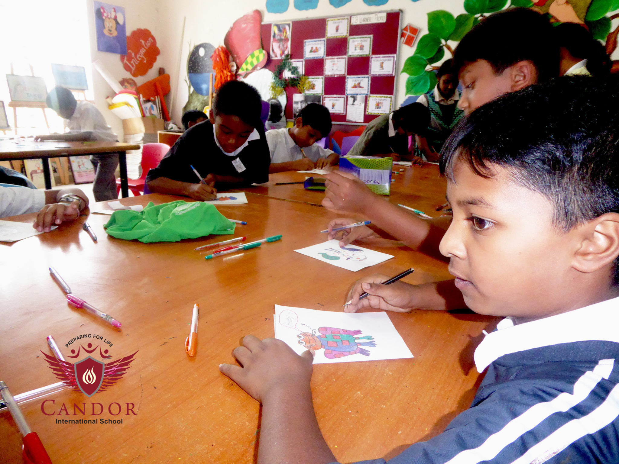 Grade 4 - Making Handmade Greeting Cards