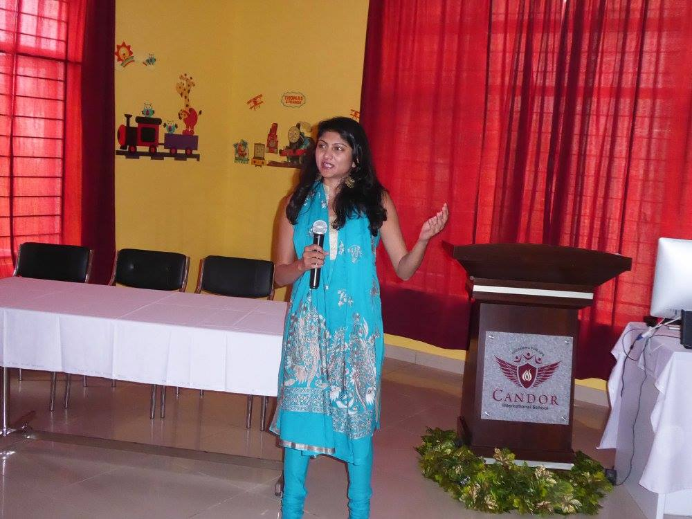 Our teachers had a session with the eminent documentary film maker, Ms. Pavitra Challam!!