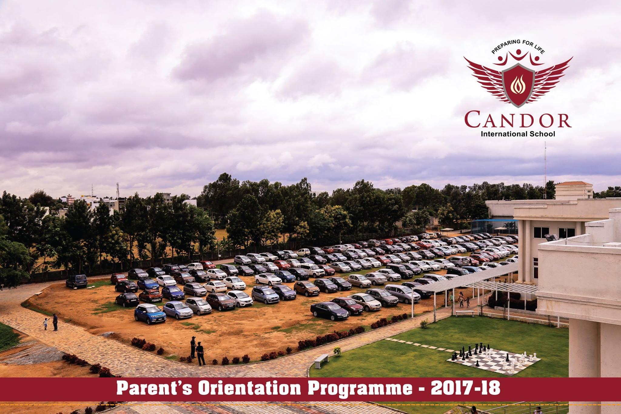 Parent's Orientation Programme - 2017-18.