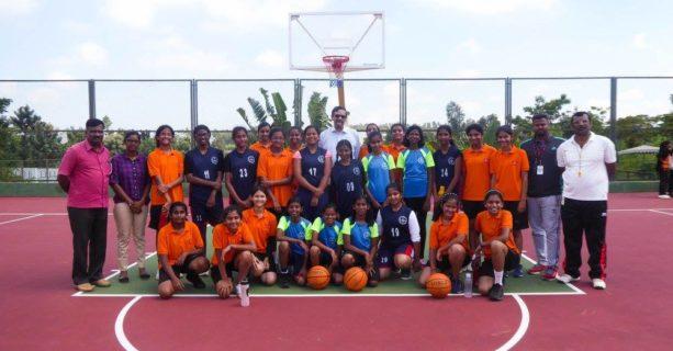 A friendly Basketball Match!!!