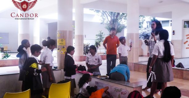 Our Grade 7 students hosted an E-Fair!!!