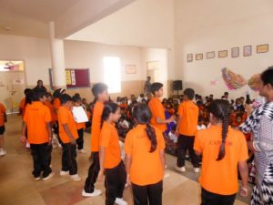 Grade 4 students presented a creative skit!!! - Candor International