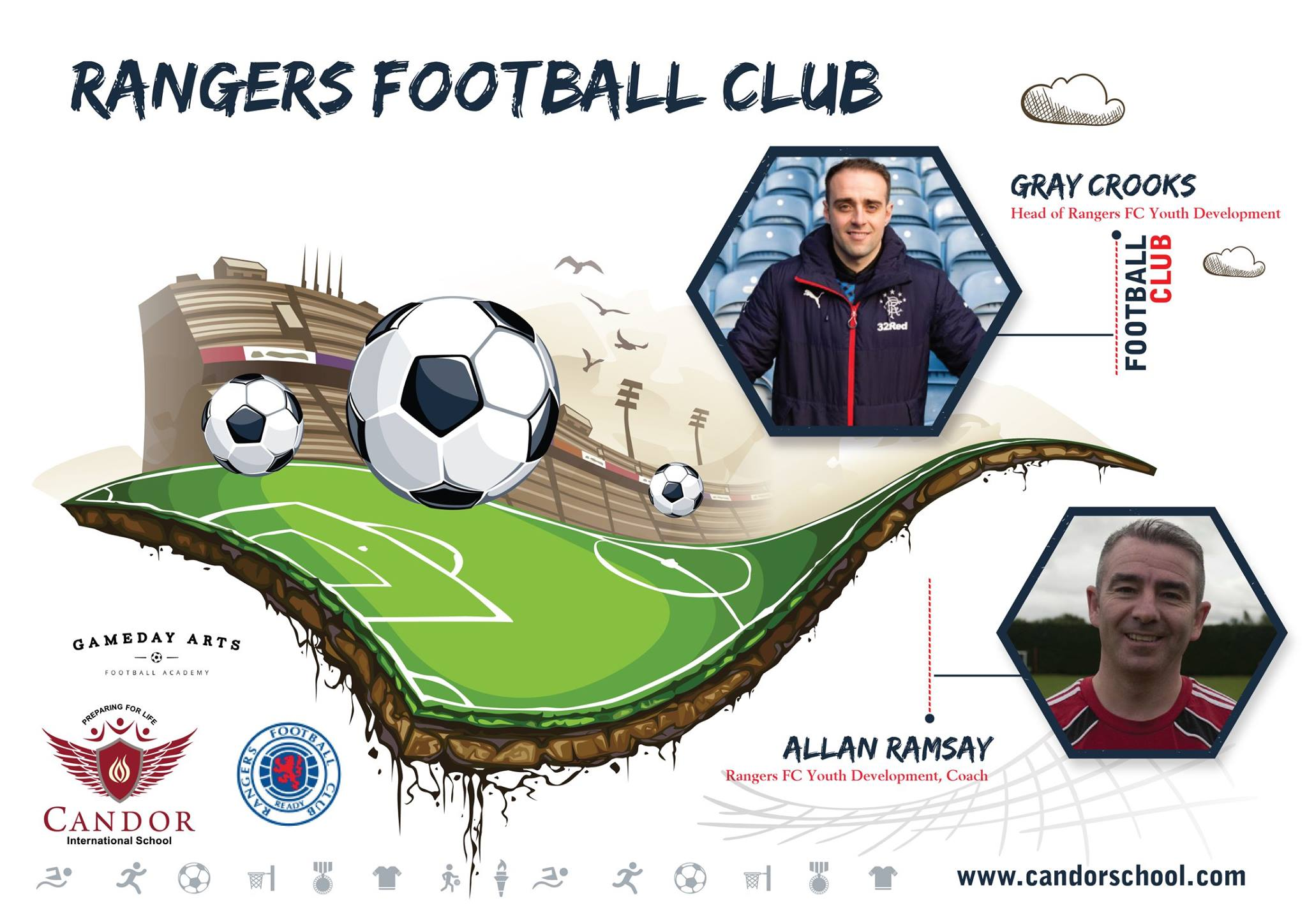 Rangers Football Club visiting Candor!!!