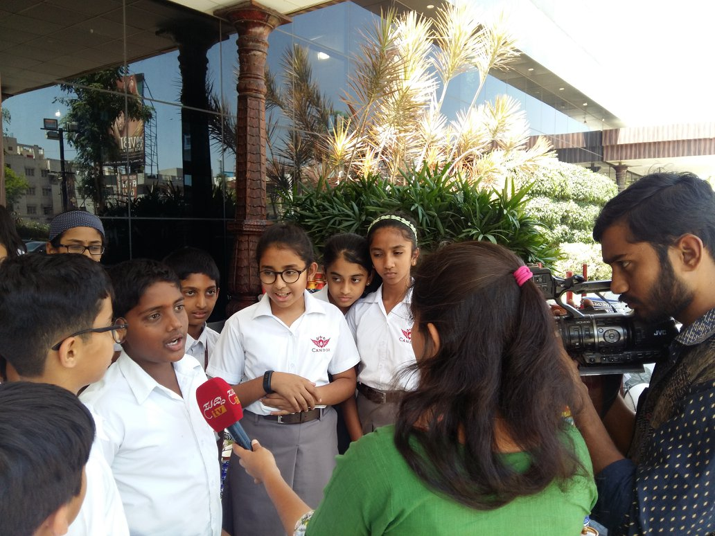 Grade 5 students visited an exhibition!!