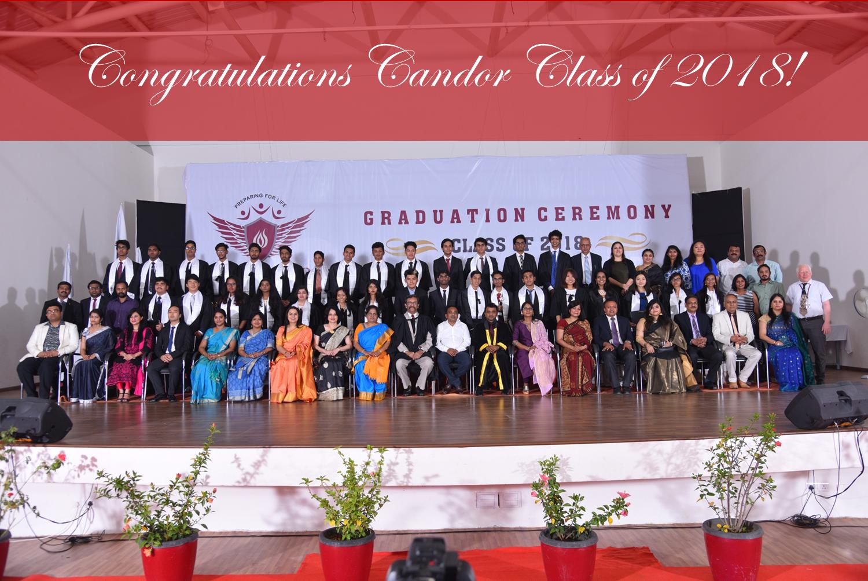 Candor Graduation Class of 2018