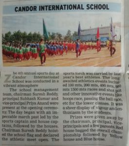 Sports Day - December 10, 2014 (Times of India)