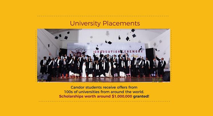 Candor University Placements