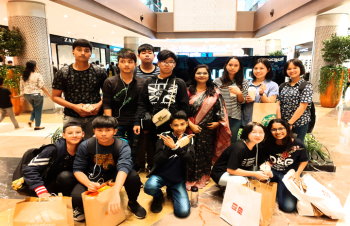 Candor Students' Visit to Mall in Bangalore