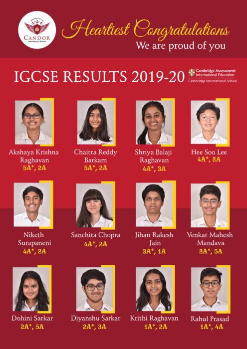 IGCSE Results 2020