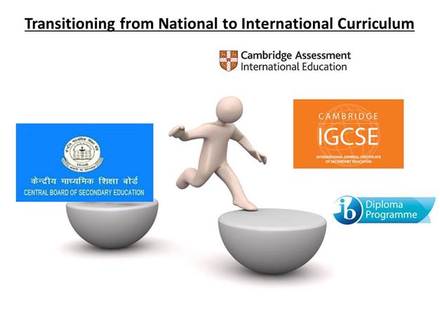 National To International Curriculum