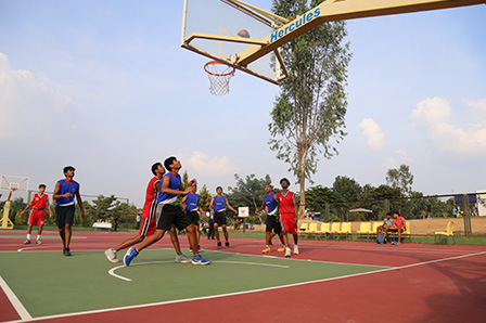 Basket Ball Court school bangalore