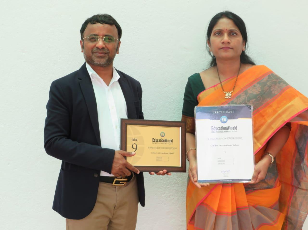 Dr. Suresh reddy of Candor school