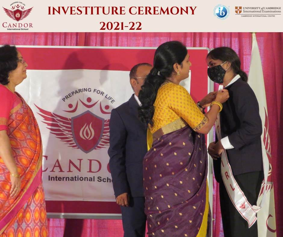 Senior Investiture Ceremony 2021-22