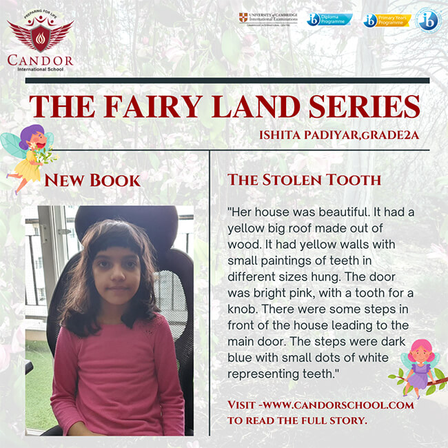 The Fairy Land Series -The One Stolen Tooth